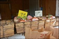 Utah fruit stand.