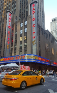 Walked by Radio City Music Hall.