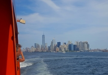 The Big Apple - from the ferry.