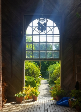 The garden at Boscobel Historic House