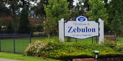 Welcome to Zebulon, The Town of Friendly People!
