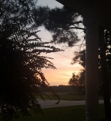 Sunset from the porch again!