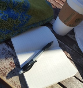 Coffee and writing.