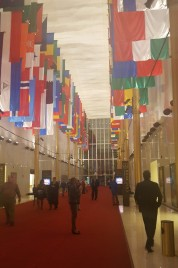 Hall of Nations in the Kennedy Center.